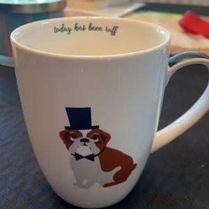 Bulldog Mug by Twos Company